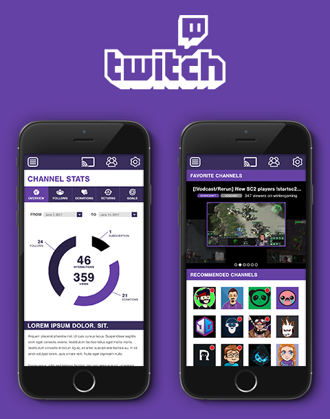 Twitch.tv Mobile App